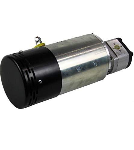 DC Motor-Pumpeneinheit, Hydraulikpumpe 4,5kW, 24 Volt, 2000 U/min, 6 cm3/U Zahnradpumpe, 12 l/min