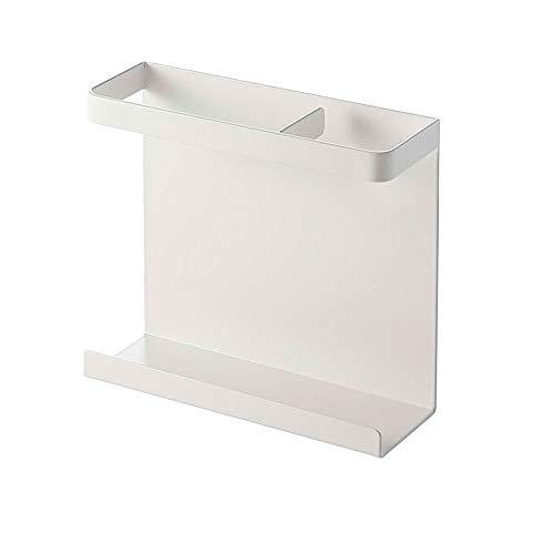Estante lateral para frigorífico de 2 niveles, para especias, botellas, organizador de almacenamiento para cocina, despensa, armario, accesorio o independiente