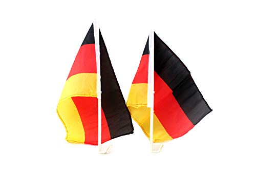 Fußball Fan Artikel Set, Auto Fahne, Fenster Fahne, Deutschland Fahne