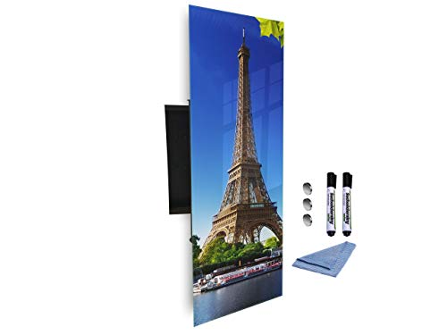 Sleutelkast 80x30 cm samen met Magnetic Glass Markerboard digitale drukachtergrond 109331300