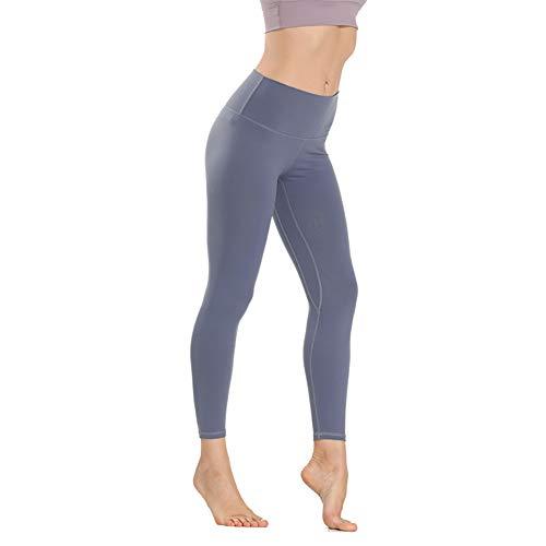 FDSVCSXV Leggings de Yoga de Cintura Alta, Leggings de Entrenamiento de compresión para Mujeres Pantalones de Yoga Pantallas Control de Yoga Pantalones Medias,A,M
