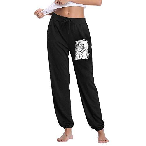 Yuantaicuifeng cintura elástica ahegao anime manga sexy cara figura casual pantalones yoga pantalones chándal
