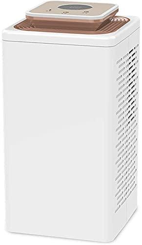 MZDJDM Deumidificatori per l'umidità Domestica, Serbatoio dell'Acqua da 2,7 Litri con spegnimento Automatico - Estrazione silenziosa dell'umidità, temporizzazione Automatica per 50 Portatile per casa