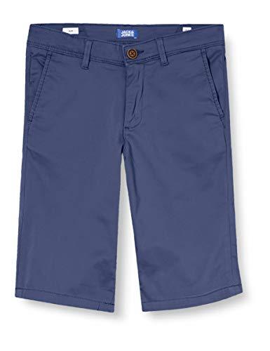 Jack & Jones Junior Boys Jjibowie Jjshorts Solid Sa Jr Bermuda classic Shorts, Vintage Indigo, 134
