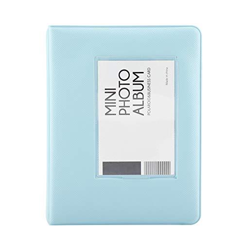 【 Frenma Mini Polaroid Fotoalbum mit 64 Taschen, Mini Polaroid für Familie Mini Polaroid Fri
