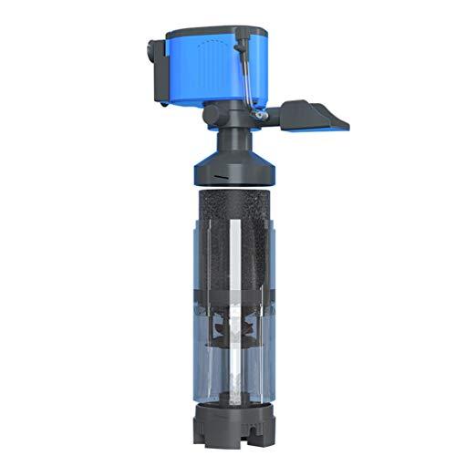 Balacoo Bomba de Agua Del Acuario Tanque de Peces Bomba de Filtro de Agua Limpiador de Acuario para Estanque Fuente Jardín Estatuario Tanque de Peces Hidroponía