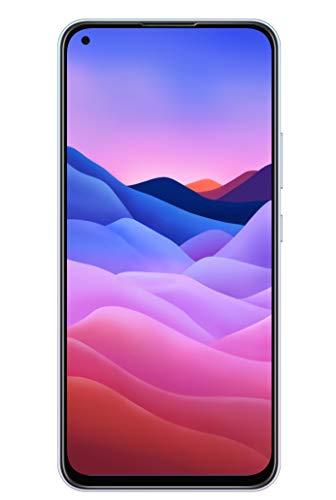 ZTE Smartphone Blade V2020 (16,59 cm (6,53 Zoll) TFT Bildschirm, 4GB RAM & 128GB interner Speicher, 48MP Haupt-Kamera, 16MP Front-Kamera , Dual-SIM, Android Q) weiß