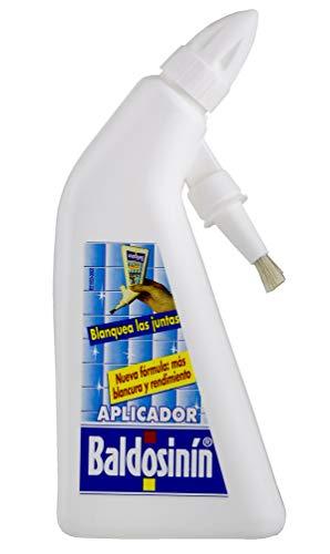 BALDOSININ| Blanquea Juntas | Aplicador Pincel | Contiene Pigmentos Blanqueantes | Uso Directo |No es Necesario Diluir en Agua | Contenido 200 ml