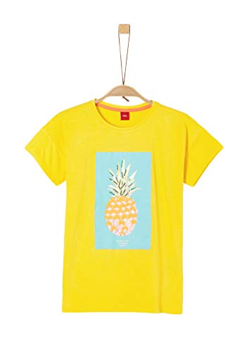 s.Oliver Junior Mädchen 401.10.005.12.130.2036976 T-Shirt, 1365 Yellow, M/REG
