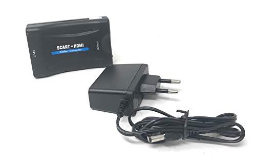 tempo di saldi Adattatore Convertitore Per TV Con Presa Femmina Da SCART Composito A HDMI 1080P