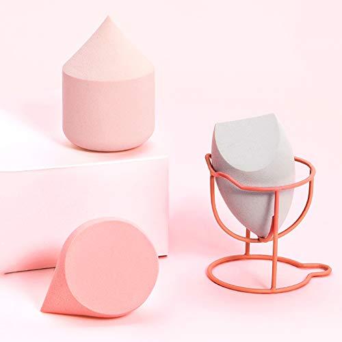 3 Tipos de Mezcladores de Esponjas de Maquillaje, Diferentes Formas, Amplia Gama de Usos, Adecuados Para Base Líquida y Polvos Compactos, Pueden Aplicar Maquillaje Rápidamente, Adecuados Para Cualqu