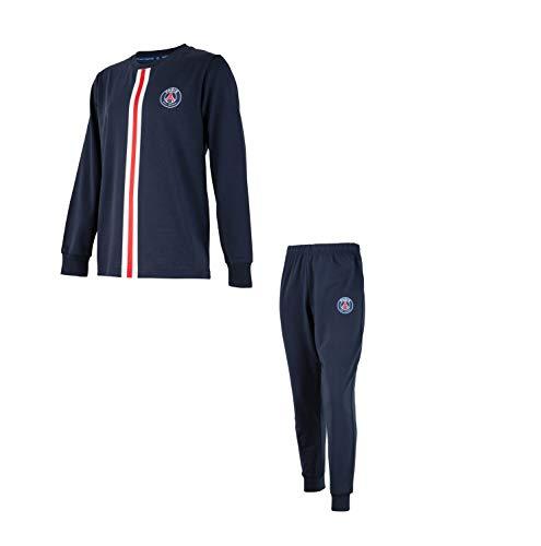 PARIS SAINT GERMAIN Pyjama Kind PSG - Trikot Club Offizielle Kollektion - Größe 4 Jahre