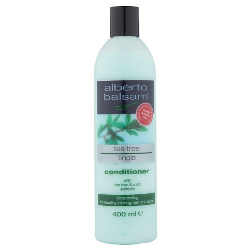 Alberto Balsam Herbal Conditioner Tea Tree Tingle - For All Hair Types 400ml