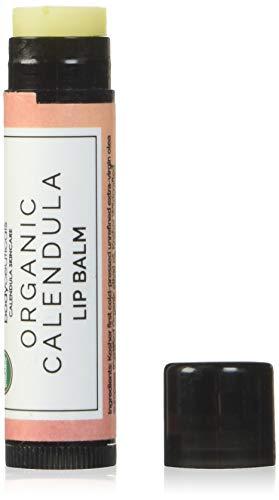 BodyCeuticals Organic Calendula Unflavored Lip Balm Stick, 0.15 Ounce