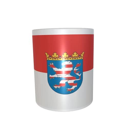U24 Tasse Kaffeebecher Mug Cup Flagge Hessen Nassau