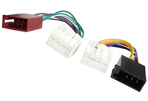 Aerzetix adapter kabelboom ISO-stekker voor autoradio origineel voor auto C41257