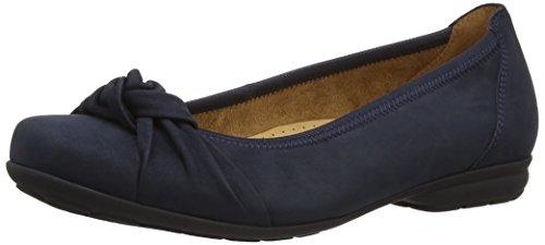 Gabor Shoes 02.643 Damen Geschlossene Ballerinas, Blau (ocean 46), 37 EU