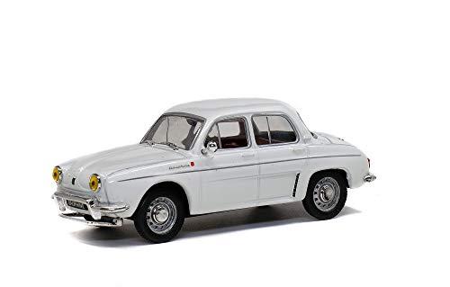 Solido S4304300 421436520-1:43 Renault Dauphine, 1961, Modelo de Coche, Color Crema y Blanco