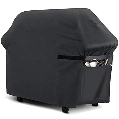 Copertura Barbecue Impermeabile Telo Protettivo per BBQ Grill, Copri Barbecue con Rivestimento Argento, Copertura Protettiva per Griglia, Anti-UV Prova, Robusto, 145x61x117 cm (210D Oxford)