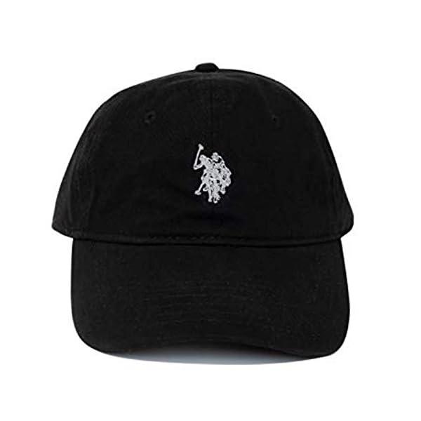 Concept One Men's U.s. Polo Assn. Pony Logo Baseball Hat, 100% Cotton, Adjustable...