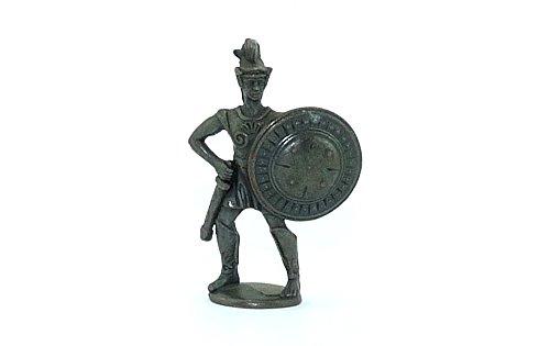 Kinder Überraschung Hoplit Figur als Spartaner mit Schild und Schwert (Metallfiguren - Ferrero - Ü-Ei Figur)