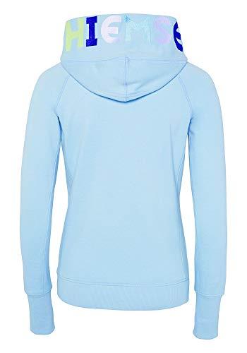 Chiemsee Damen Sweatjacke Woman Sweatshirt, Cool Blue, XS
