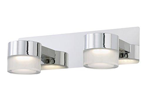 Briloner Leuchten Badezimmerlampe, Spiegelleuchte, LED Badlampe, Badleuchte, Badezimmerleuchte, Badleuchten Decke, Badlampe Decke, Badleuchten Wand, Badlampe Spiegel, Badlampe Wand