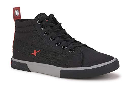 Sparx Men's Black Red Sneakers-6 UK (39 1/3 EU) (SC0620G_BKRD0006)