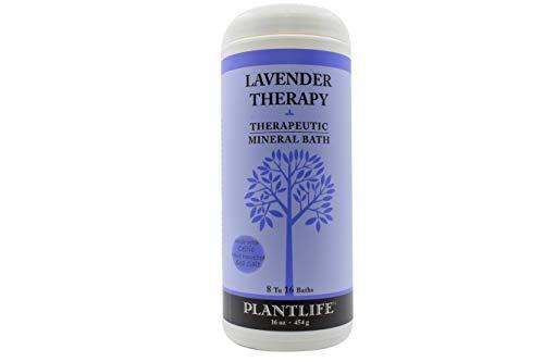 Lavender Therapeutic Mineral Bath Salt- 16 oz