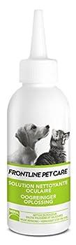 Soin pour les yeux des chiens et des chats - Tube 125ml. Formulation vétérinaire proche de celle des larmes des chiens et des chats Prévient des irritations Recommandé en usage quotidien ou hebdomadaire pour une bonne hygiène de l'œil.