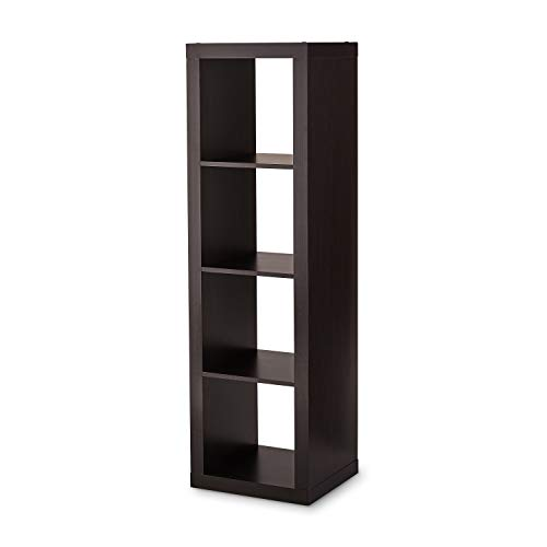 Better Homes and Gardens Furniture 3-Cube Room Organizer Storage Bookcases and X Tree Bundle, Natural