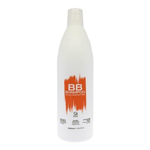 BB Hair Care - Shampoo Cheratina - Prodotto Professionale Ideale per Capelli Trattati e Indeboliti - Riparatore e Revitalizzante - 1 L