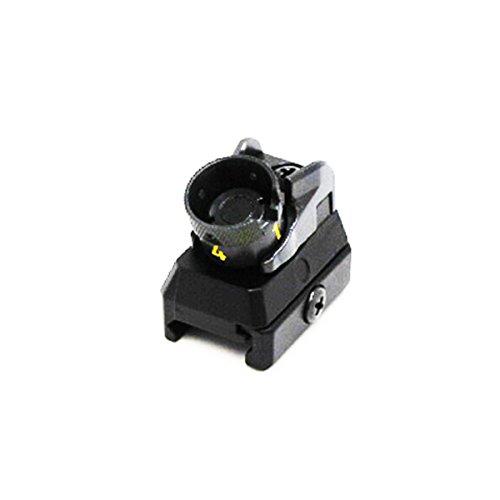 Airsoft AEG Shooting Gear D-Boys HK416 Fixed Combat Rear Sight Black -  TM0693