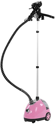 Ejoyous Vapor Vertical, Plancha de Vapor para el hogar, vaporizador, 1,7 L, 60 min, Vapor de 11 Niveles, para Prendas de Vestir, Pico y Tejido.