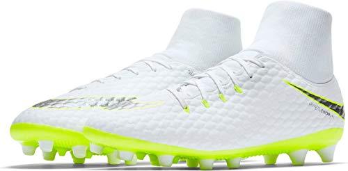 Nike Herren Hypervenom Phantom III Academy DF AG-Pro Fußballschuhe, Weiß (weiß weiß), 40 EU