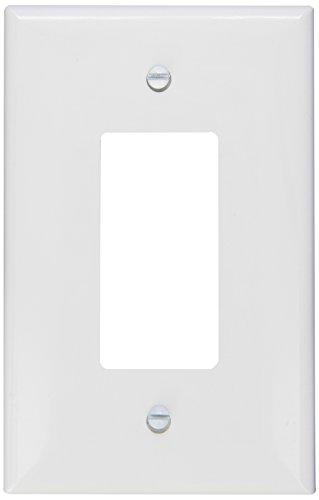 Morris 81821 Lexan Wall Plate, Oversize Decorative GFCI, 1 Gang, White