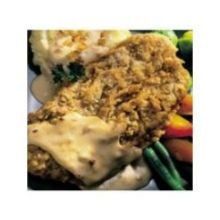 Kings Command Foods Southern Style Chicken Fried Beef Steak - Raw, 5.3 Ounce -- 30 per case.