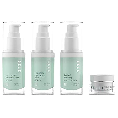 Beauty Shopping Belei by Amazon: Beauty Solutions Deluxe Mini-Size Skin Care Set, All Skin Types