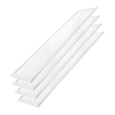 "Quest LED 2x2 (24"" x 24"") 45W LED Flat Edge-Lit Panel, 4,500Lumens, 100LM/W 120-277V, 0-10V Dimmable, 5 Year Warranty UL/DLC"