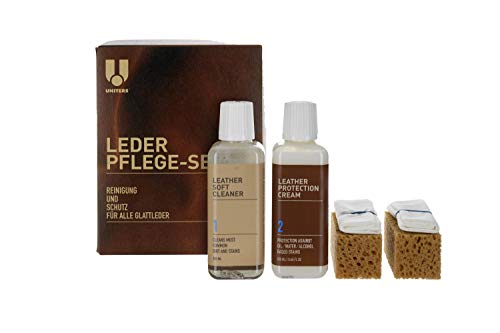 Leather Master Lederpflege-System Maxi Kit 250 ml für alle Glattleder geeignet