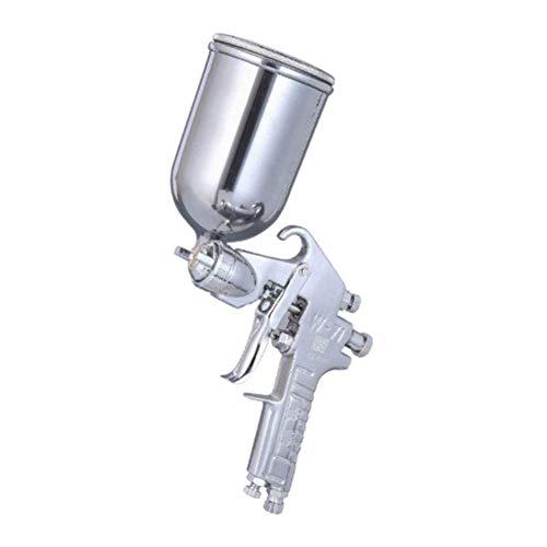 DX Spuitpistool Zwaartekracht Feed Air,W-71 met 1,5 Mm mondstuk en 400 Ml gieter, Geschikt voor binnen- en buitenspuiten