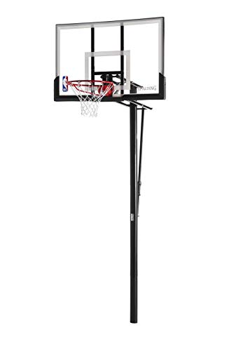 Spalding NBA In-Ground Basketball System - 52' Acrylic Backboard