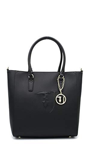 Trussardi Jeans Ischia Shopping bag Ecoleither Black