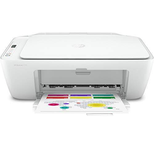 HP DeskJet 2720 + Tarjeta regalo €5 Amazon - Impresora multifunción, Wi-Fi, Bluetooth,...