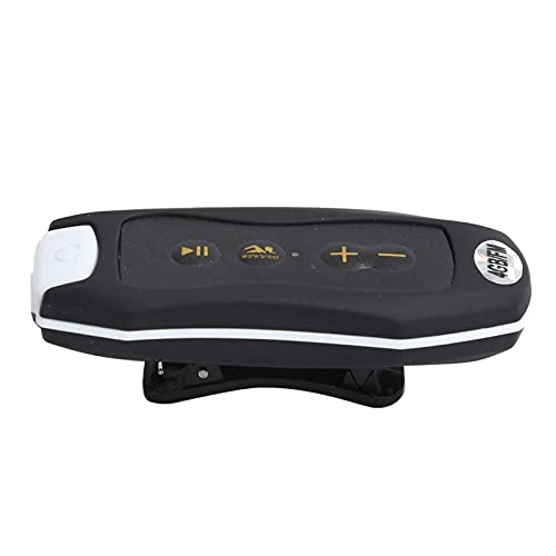 GPWDSN MP3 Deportivo de Buceo portátil con Reproductor de música FM Impermeable IPX8 de 4GB con Auricular