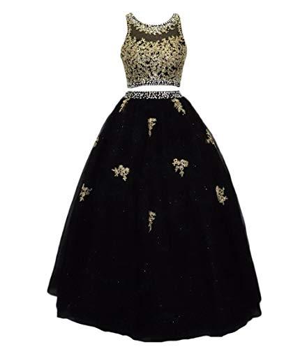 Dydsz Quinceanera Dresses for Women 2020 Prom Sweet 16 Dress Ball Gown 2 Piece D225