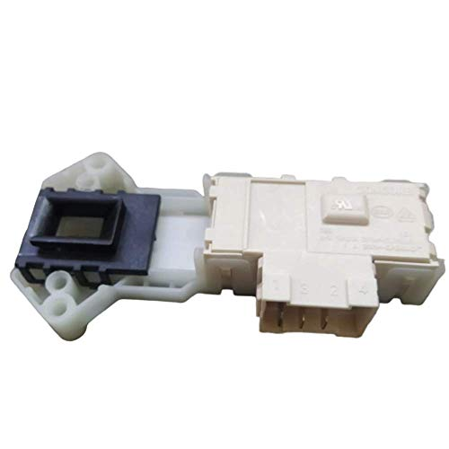 YE Door Switch and Lock Assembly Compatible with LG Front Loading Washing Machine