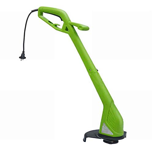 GOFEY° 220V 350W Electric Grass Trimmer Foldable Lightweight Plug-In Lawn Mower Small Household Electric Lawn Mower Suitable for Trimming Corners