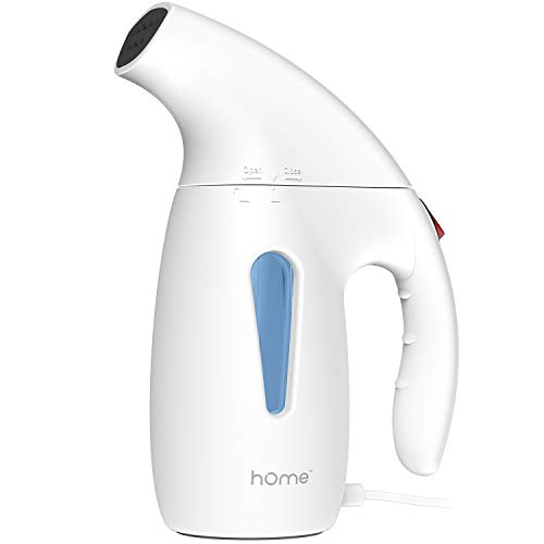 hOmeLabs Handheld Portable Garment Steamer - Fast Heating, Large Water Tank and Auto-Shut Off - Compact Design Ideal for Travel or Spot Wrinkle Removal