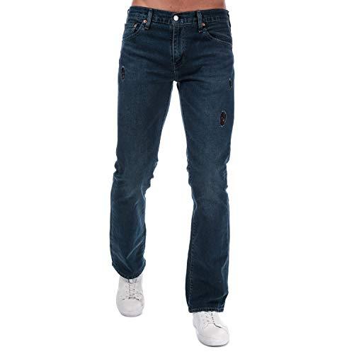 Levis 527 - Jeans da uomo, colore: blu/nero Aw3 Blu/Black 6 33W x 30L